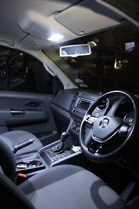 SAP 6000K HID White LED Interior Light Conversion Package Kit - for VW Amarok