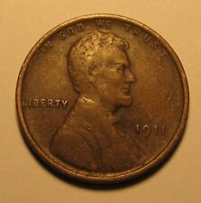 1911 LINCOLN WHEAT CENT IN FINE CONDITION