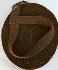 ALLIED WW11 BURLAP SCRIM - BROWN Sold by the yard (B-55 )