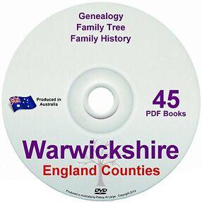 Family History Tree Genealogy Warwickshire