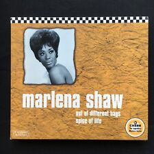 MARLENA SHAW Out Of Different Bags/Spice Of Life CHESS REMASTERED 1121992 2 x CD