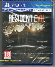 "Resident Evil 7 Biohazard HD VR ""New & Sealed' * PS4 (Quatre) *"
