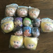 Lot of Doll Heads And Arms Baby Toothie and other x13 heads Pig Tail