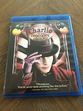 Charlie And The Chocolate Factory (Blu-ray) Johnny Depp LikeNew! 6mm Case