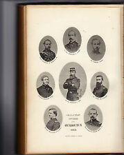 RECORD OF THE SERVICE OF THE 44th MA VOLUNTEER MILITIA IN NC 1862/3-SIGNED-1887