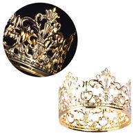New Tiara Crown Cake Topper Wedding Baby Birthday Party Supplies Cake Decor