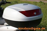 Motorrad Roller ATV Quad Top Case 020 Silber 77L Koffer