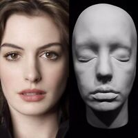 "Anne Hathaway Life Mask Cast"" The Devil Wears Prada""Princess Diaries""Catwoman""!!"