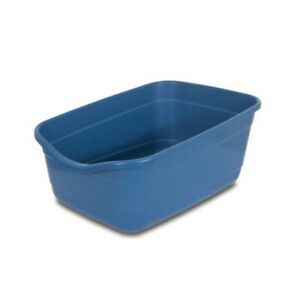 PetMate Giant Open Litter Pan - Blue