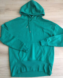 Primark Size 12 Green Oversized Hoodie Top Relaxed Leisurewear