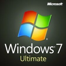 Microsoft Windows 7 Ultimate 32 / 64bit mit SP1 deutsch Vollversion 1PC