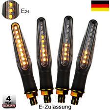 Motorrad LED Blinker Laufeffekt Lauflicht BYNAMI Sequentiell Vorn Hinten TÜV*4