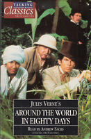 Jules Vern Around The World In Eighty Days Talking Classics 2 Cassette Audio