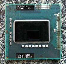 Intel QUAD-CORE I7-720QM I7-740QM i7-820QM i7-840QM I7-920XM  I7-940XM CPU