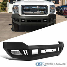11-16 Ford F250 F350 Super Duty Pickup Black Steel Front Bumper Guard Face Bar