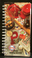 1992 Philadelphia Phillies Official Media Press Guide, 240 Pages of Facts & Fun!