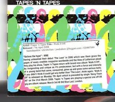 (FK206) Tapes 'n Tapes, Walk It Off - 2008 CD