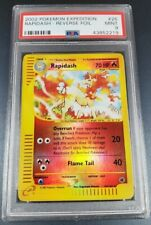 Pokemon PSA 9 Rapidash Reverse Holo Expedition 26/165 Mint