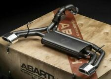 🆕500 Abarth 595 Record Modena Dual Stage Exhaust New ✔ Genuine ✔ 5748028