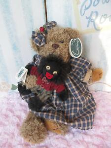 "Bearington Bears ""Molly"" 14"" Plush Bear- #1188- 2001 Gee miss Molly"