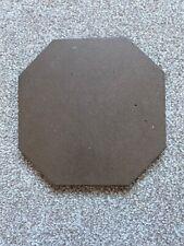 """Genuine Reclaimed Antique Victorian Brown Octagonal floor tile 6"""" X 6"""""""