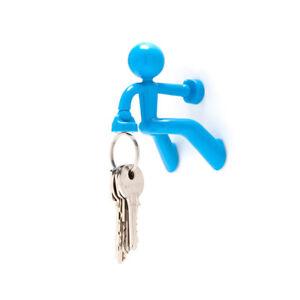 Key Pete The Magnetic Man Key Holder Gift Home Decor Peleg Design Genuine Blue