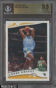 2005-06 Topps #69 Kobe Bryant Los Angeles Lakers HOF BGS 9.5 GEM MINT
