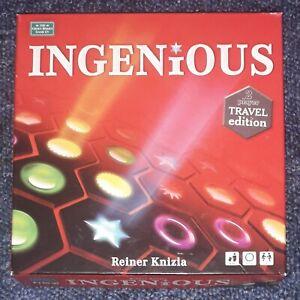 Ingenious Travel Edition Reiner Knizia  100% Complete Good Condition  Rare
