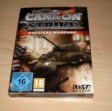 Gioco COMPUTER PC GAME GIOCO-Cannon STRIKE-Tactical Warfare-NUOVO OVP