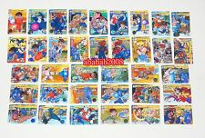 Bandai Street Fighter Zero Part.2 Carddass regular Card Set - set of 36 Cards