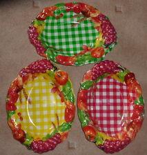 Dekoschale für Obst,Brot u,s,w.Neu in 3 Farben Italienisches Design