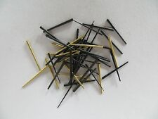 Brass and Steel Clock Tapered Pins - Assorted sizes - Package of 50