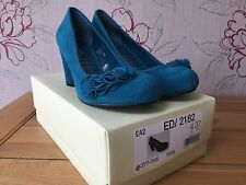 Womens shoes, Brand new in box, Next, Size 4, Teal Suede - RRP £42