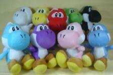 """Super Mario Bros. Set of 9 Yoshi Plush Toys 6"""""""