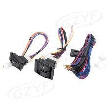 12V Volt Wiring Harness Auto Car Electric Window Switch Kits Universal