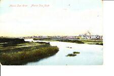 Moose Jaw, Saskatchewan  Town & Moose Jaw River 1910