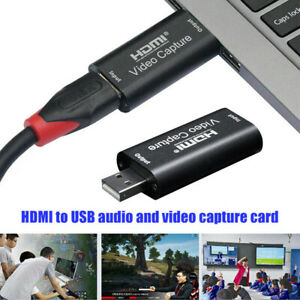 HDMI Video Capture Card USB 2.0 1080p HD Recorder For Game/Video Live StreamiB_R