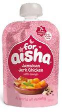 Para Aisha Jamaican pollo jerk Con Mango 130 G (paquete De 6)