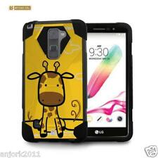 Giraffe Shockproof Case w/Stand Cover for LG Stylo 2 Plus MS550