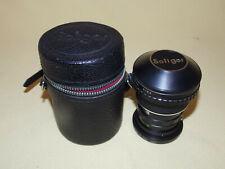 Soligor Fish-Eye .15x Screw Mount  52mm Camera Lens Original Cap Carrying Case
