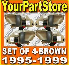 95 96 97 98 CHEVY GMC TRUCK 95-99 Suburban TAHOE INSIDE DOOR HANDLE BROWN Set 4