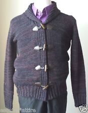 Daniele Blasi men cardigan style sweater size S wool blend  made in Italy NWT