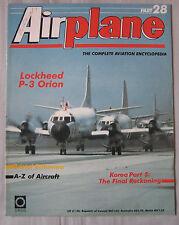 Airplane Issue 28 Lockheed P-3 Orion cutaway & poster, Bristol Britannia cutaway
