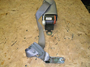 OEM 00 Cadillac Deville Grey Rear Driver's Side Seat Belt Retractor, safety LH