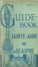 Guide Book Sainte-Anne de Beaupre Quebec 1947