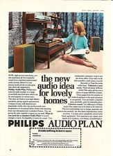 Philips Audioplan Lovely Home HiFi Audio System 1968 Retro Vintage Advert