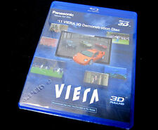 New Panasonic HD 3D TV Demo Blu Ray Disc 2011 5.1/DD(Ok w/Samsung,Sony,Vizio et)