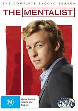 The Mentalist : Season 2 (DVD, 5-Disc Set) R-4, NEW, FREE  POST IN AUSTRALIA