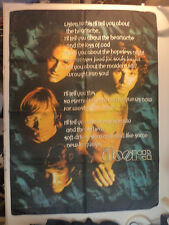 THE DOORS  rare  TEXTILE POSTER FLAG   JIM MORISSON  psych pink floyd lp t shirt