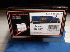 MTH Ho GP38-2 CSX Locomotive DCC Ready